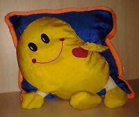 "Smiley Face Pajama Bag Nylon Zippered Handles 13"""