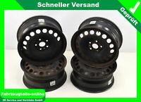 Stahlfelgen VW AG 16 Zoll 6,5J X16 H2 ET42 LK 5x112 4mal VW Golf Plus 3C0601027H