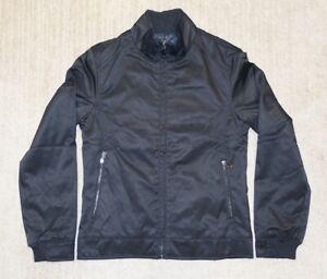 Zara Man Mens Moda Sport Jacket  Black Full Zip Size M Medium