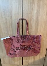 Marc Jacobs NWT The Foil Tote Bag Large Purse Handbag Pink top handle MSRP $225