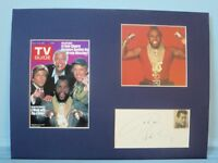 """""""The A Team"""" signed by John Ashley - Producer and Narrator"""
