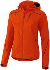 Vestes et imperméables de randonnée orange en polyester pour femme