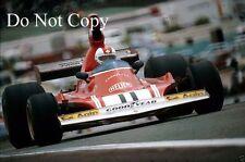 Clay Regazzoni Ferrari 312 B3 Spanish Grand Prix 1974 Photograph