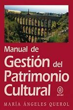 Manual de gestión del Patrimonio Cultural. ENVÍO URGENTE (ESPAÑA)