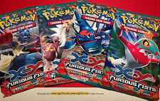 4 x Pokemon XY Furious Fists Booster Packs (10 Cards/pack) - Factory Sealed