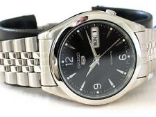 Seiko 5 Automatic Mens Watch See Through Back Jubilee chain SNK135K UK Seller