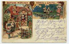 AK Deutsche Märchen Serie II Hänsel und Gretel Künstlerkarte Koch Brüning Hanau
