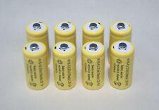 8X 1.2V Volt 2/3 AA 150mAh Rechargeable Ni-Cd NICD Batteries Fast USA Shipping!