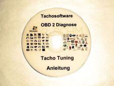 Tacho Rückstellung-Radio-Climatronic Software Obd Obd2 Kkl Vag-Vw-Bmw-Mb-Uvm.