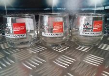 Coca Cola glazen glasses gläser verre Fifa World cup 1990