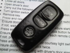 MAZDA 2 3 6 323 626 MX5 RX7 RX8 ETC 3 BUTTON REMOTE ALARM KEY FOB VISTEON 41804