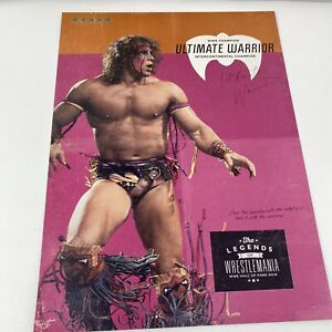 "Ultimate Warrior Poster 12""x16"" WWF Wrestling"