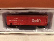 N SCALE RAPIDO TRAINS 521034 SWIFT GARX 37' MEAT REEFER SINGLE CAR RD#2625