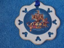Disneyland 50th Anniversary Happiest Homecoming On Earth Christmas Ornament