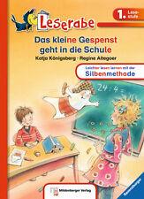 Leserabe 1. Klasse Das kleine Gespenst geht in die Schule Lesen lernen + BONUS