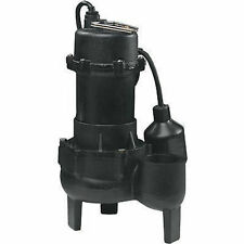 """SEWAGE EJECTOR PUMP Submersible - 115V Electric - 5,700 GPH - 2"""" Solids Handling"""