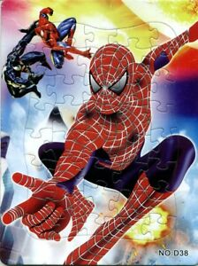 Disney Spider-man Drawing 40 Pieces Jigsaw Puzzles Best Gifts for Kids