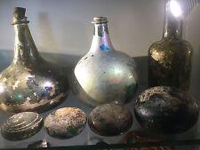 antique dutch 16th century Excavated Blown Glass Slikenstone Smoothing Stone