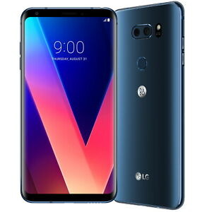 LG V30 H930 64GB Moroccan Blue Unlocked Smart Phone Sim Free Android Mobile 3