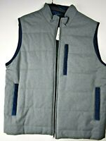 $169 NWT Brooks Brothers Gray Men's Navy Thermore Insulated Vest Size XXL 2XL