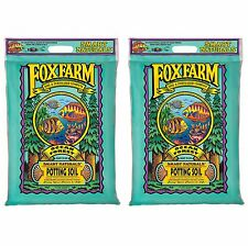 (2) FOXFARM FX14053 12 Quart Ocean Forest Organic Potting Soil Bags - 6.3-6.8 pH