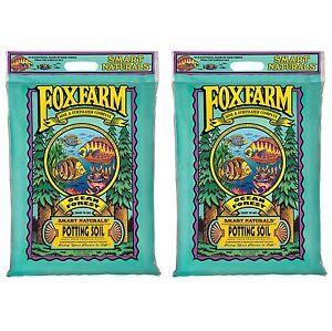 Foxfarm FX14053 Ocean Forest Organic Garden Potting Soil Mix 12 Quarts (2 Pack)