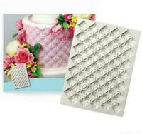 Continuous Quilting Mould Big Silicone Mold Cake Decorating Tools Chocolate Mold