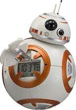 Rhythm Watch STAR WARS BB-8 Voice Action Figure Alarm Clock 8RDA74MC03