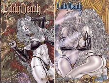 Lady Death 2005 Bikini Special Dragonslayer + Mirror Image Covers (Avatar) NEW