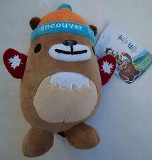 ORIG. mascotte olimpica W. GIOCHI VANCOUVER 2010-mukmuk // 20 cm!!! TOP