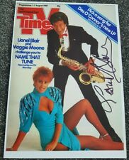 Lionel Blair Hand Signed A4 Photo