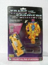 Vintage Transformers G1 Stunticon Dragstrip Action Figure Hasbro 1986 sealed