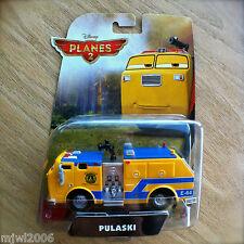 Disney Planes 2 PULASKI Fire Truck Engine diecast Fusel Lodge FIRE & RESCUE INTL
