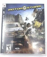 MotorStorm PlayStation 3 (Evolution 2007 PS3) Game Complete with Case and Manual