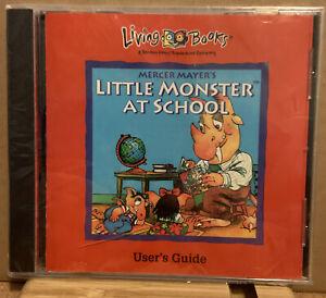 Vintage CD - Living Books - Little Monster at School - CD 1994 New, Sealed