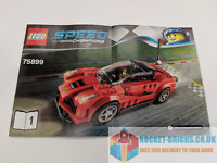 ⭐️LEGO 75899 SPEED CHAMPIONS LAFERRARI - INSTRUCTION MANUAL ONLY - USED⭐️