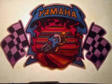NOS Vtg Iron On Heat Transfer 70s Small Mini Yamaha Motorcycle 1975 Rats Hole