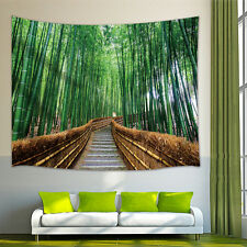 bamboo forest Tapestry Wall Hanging for Living Room Bedroom Dorm Decor