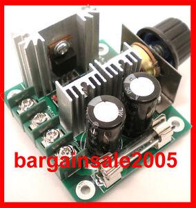 HQ PWM DC Voltage Motor Speed Regulator 12 / 24VDC 400W 10A  HLDR10A400