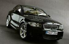 1/18 BMW Dealer e82 125i 130i M-Pack Coupe Black Kyosho N52 L6 Engine RARE