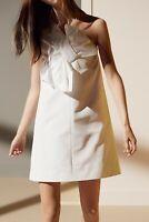 RRP €770 VICTORIA VICTORIA BECKHAM Shift Dress Size UK12/US8 One Shoulder