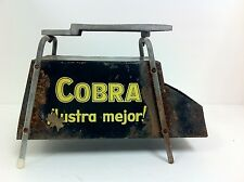 Antique Original Cobra Shoe Shine Box From Argentina