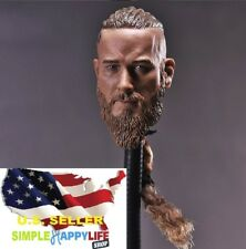 "1/6 Viking Captain Head Sculpt For 12"" Hot Toys Figure Phicen Headplay ❶USA❶"