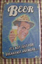 Beer Metal Sign Painted Poster Restaurant Garage Wall Decor Shop Pub Club Art *