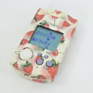Dreamcast Visual Memory STRAWBERRY HKT-7000 Sega 1105 Official dc