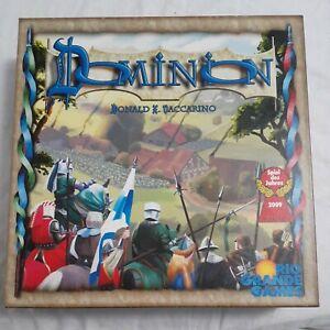 Rio Grande Games : DOMINION Table Top Card Game, Theme: Fantasy/Kingdom, 1st Ed