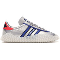 ADIDAS ORIGINALS COUNTRY KAMANDA MICROPACER Mens Silver Leather Shoes, Pick Size