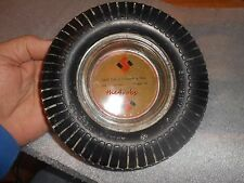 Vintage Seiberling Tire Ashtray Ideal Tire & Vulcanizing Shop Dwight,Illinois