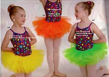 NWT Wolff Fording Organdy 3 Layer Tutu Ballet Girls/ladies neon brights 4 colors