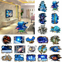 DIY Removable 3D Wall PVC Self-Adhesive Wall Decals Vinyl Sticker Home Decor